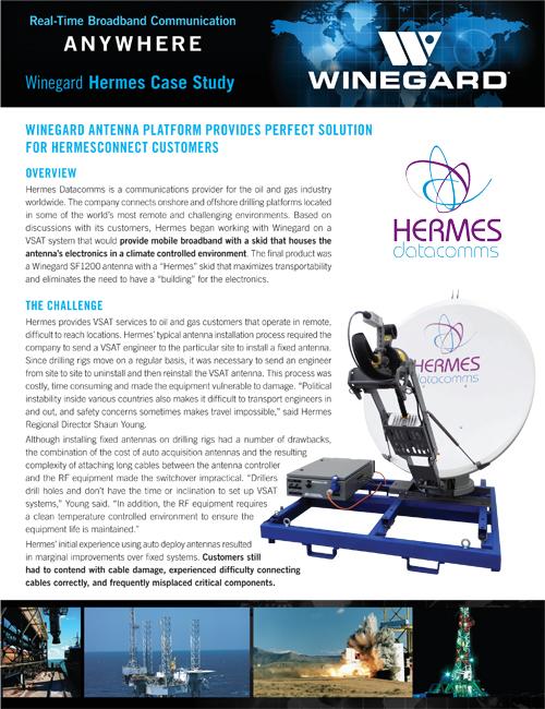 Case Study - Winegard & Hermes
