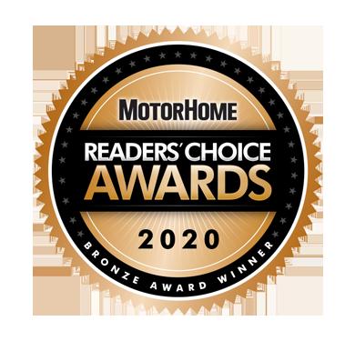 MotorHome Reader's Choice Awards 2020 Gold