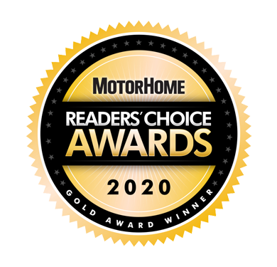 MotorHome Reader's Choice Awards 2020 Gold