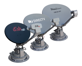 Satellite TV Roof Mounted Antennas
