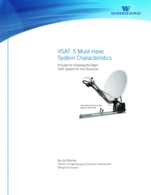 White Paper - VSAT: 5 Must-Have System Characteristics