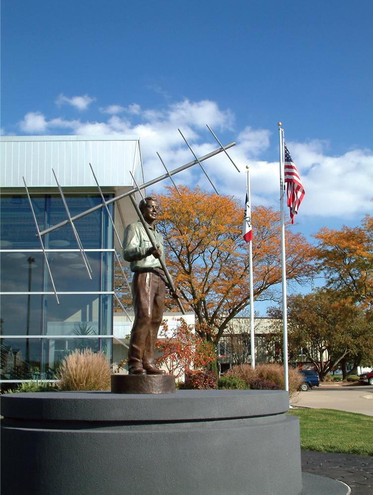 John Winegard Statue